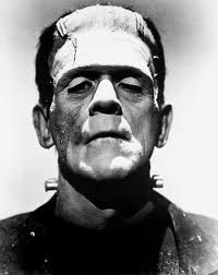 Just remember: Frankenstein is the scientist dude. This guy here is called Frankenstein's monster.